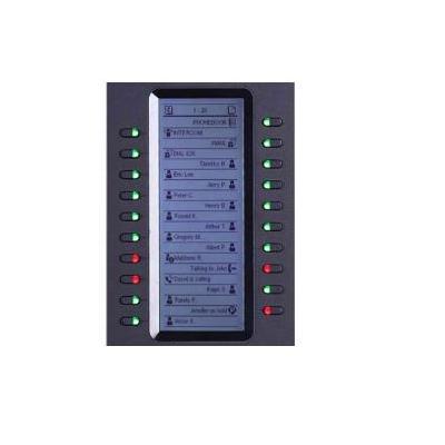 Grandstream Networks GXP2200EXT IP add-on module - Zwart