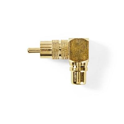 Nedis CAGP24920GD Kabel adapter - Goud
