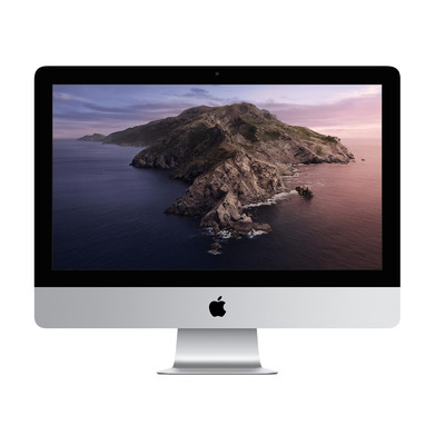 "Apple iMac 21.5"" (2020) Retina 4K 3,6GHz Quatro-core i3 8GB 256GB All-in-one pc - Zilver"