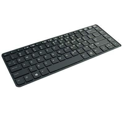 Hp toetsenbord: Replacement laptop keyboard for EliteBook 840/850 G1, ZBook 14 - Zwart