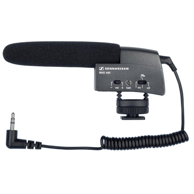 Sennheiser MKE 400 Microfoon - Zwart