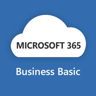 Microsoft 365 Business Basic (Maandelijks) Software licentie