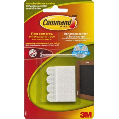 Command : Fotolijststrips Wit Mini voor Stabilisatie