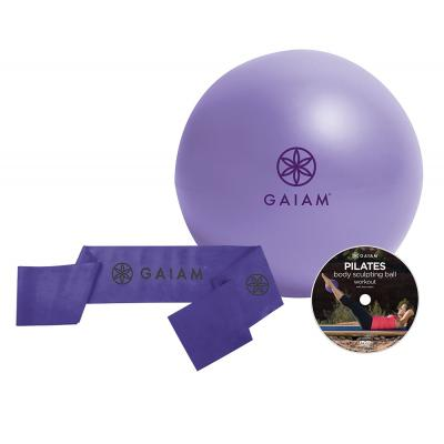 Gaiam fitness, gymnastiek & gewichtstraining: Pilates Beginners Kit
