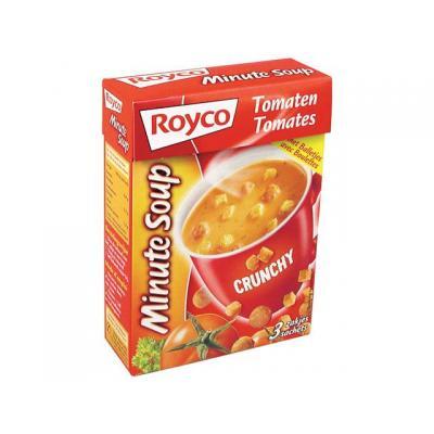 Royco voedingswaar: Minute soup Tomaat+balletjes/ds 20