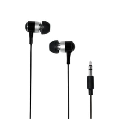 LogiLink Stereo In-Ear Earphone, 50 - 18000 Hz, 109dB, 32 Ohm, Black Headset - Zwart