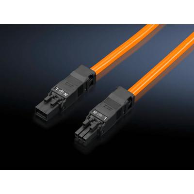 Rittal 2500530 Electriciteitssnoer - Oranje