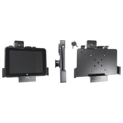Brodit Holder with lock, Tilt, swivel, 243 x 206 x 54mm, 427g, ABS plastic, Black Houder - Zwart