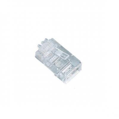 Black Box CAT5 Modular Plugs, Unshielded, RJ-45 Kabel connector - Transparant