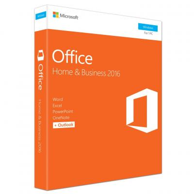 Microsoft software suite: Office Home & Business 2016