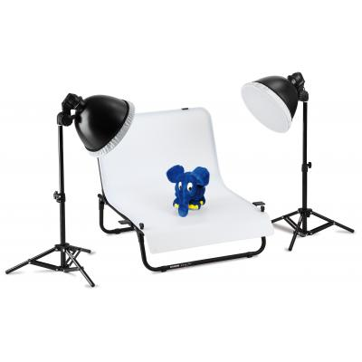 Kaiser fototechnik photo studio equipment set: easy-fit - Zwart, Wit