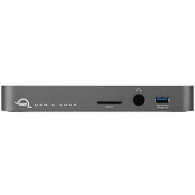 Owc docking station: USB-C Dock Space Gray, USB Type-C / USB 3.1 Gen 1 / HDMI / GbE / Audio In & Out / SD Card Reader - .....