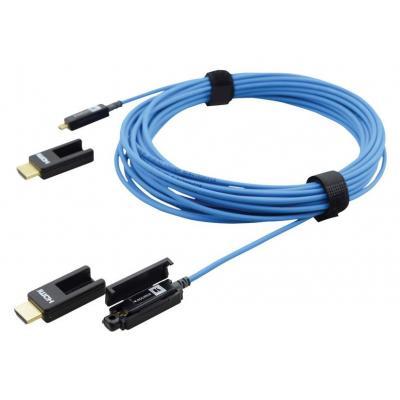 Kramer Electronics 10.058 m, HDMI Type D, M/M, Blue HDMI kabel - Blauw
