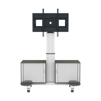Conen Mounts Mobile TV cabinet – TV stand with mount, electrically height adjustable 42 - 65 inch monitor .....