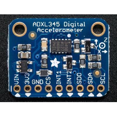 Adafruit : ADXL345 - Triple-Axis Accelerometer (+-2g/4g/8g/16g) w/ I2C/SPI