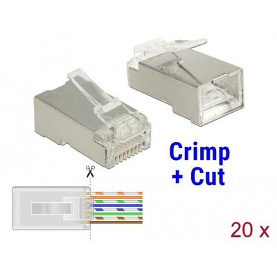 DeLOCK 86454 Kabel connector - Transparant