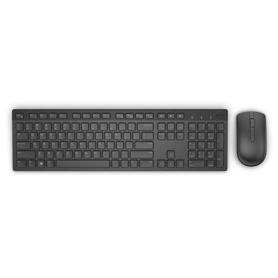 Dell toetsenbord: KM636 - Zwart, QWERTY