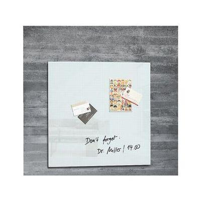 Sigel magnetisch bord: wit, 48 x 48 cm, 1 stuks