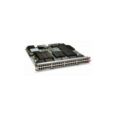 Cisco Catalyst 6500 Series 48-Port 10/100/1000 RJ-45 Express Forwarding 720 Interface Module switchcompnent (Open Box)