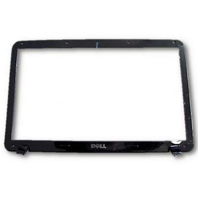 Dell notebook reserve-onderdeel: LCD Panel Bezel, Black - Zwart