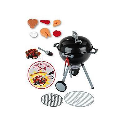Theo klein role play toy: Weber kettle barbecue OT Premium - Zwart