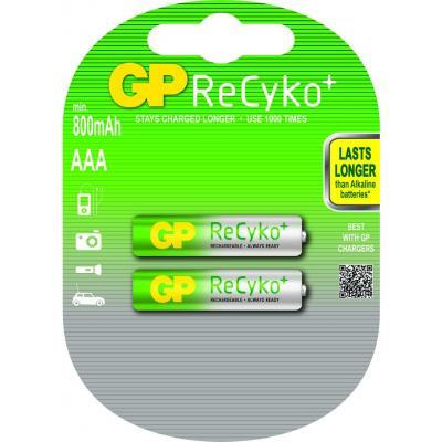 Gp batteries batterij: ReCyko+ AAA - Veelkleurig