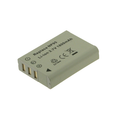 2-Power Digitale Camera Accu 3,7V 1500mAh - Grijs