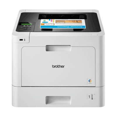 Brother laserprinter: Netwerk Kleurenlaserprinter 31 ppm - 256 MB - 2400 dpi class - interne duplexunit - Wireless - .....
