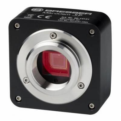 Bresser optics microscoop accessoire: MIKROCAM SP 1.3 - Aluminium, Zwart