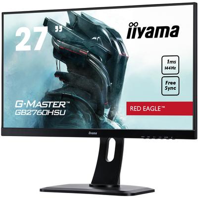 """Iiyama G-MASTER 27"""", 1920 x 1080 px, 400 cd/m², 1ms, 170°/160°, 16:9, AMD FreeSync, HDMI, 26W, G Monitor - ....."""
