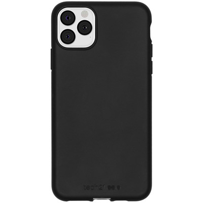 Antimicrobial Backcover iPhone 11 Pro Max - Black - Zwart / Black Mobile phone case