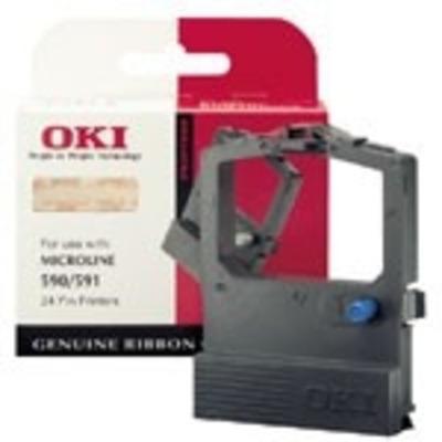 OKI Colour Nylon Ribbon Printerlint - Zwart,Cyaan,Magenta,Geel