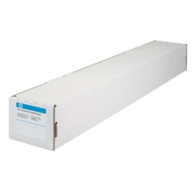Hp papier: HW Coated Paper, 1524mm x 30.5m - Wit
