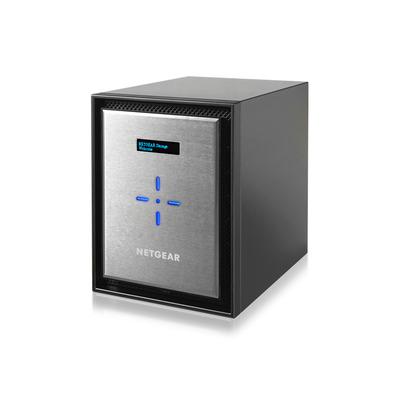 Netgear Ready526X NAS - Zwart, Zilver