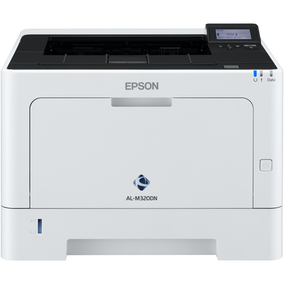 Epson WorkForce AL-M320DN Laserprinter - Zwart, Wit