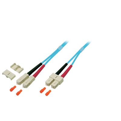 EFB Elektronik O7413.15 Fiber optic kabel - Turkoois