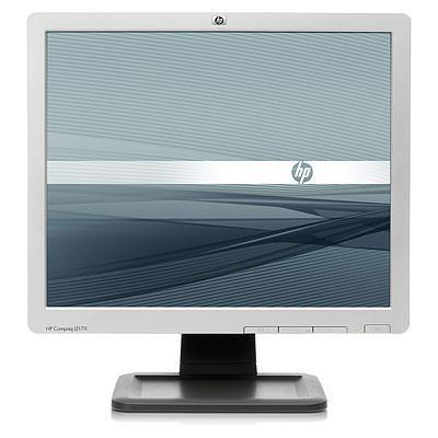 HP monitor: LE1711 - Zwart, Zilver (Refurbished LG)