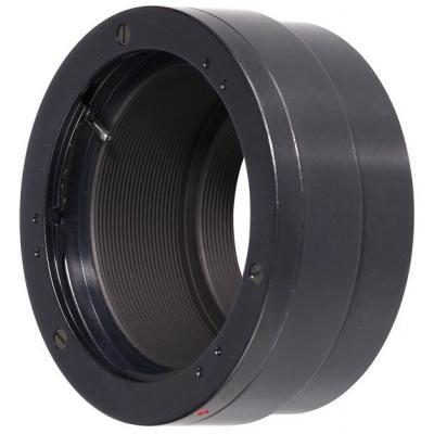 Novoflex Olympus OM to Canon EF-M, Black Lens adapter - Zwart