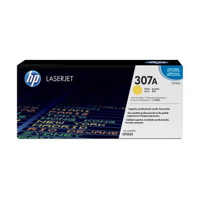 HP CE742A cartridge