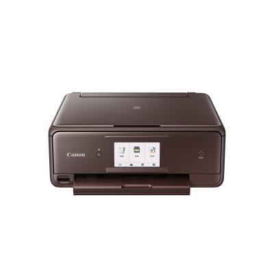 Canon multifunctional: PIXMA TS8053 - Zwart, Cyaan, Grijs, Magenta, Zwart Pigment, Geel