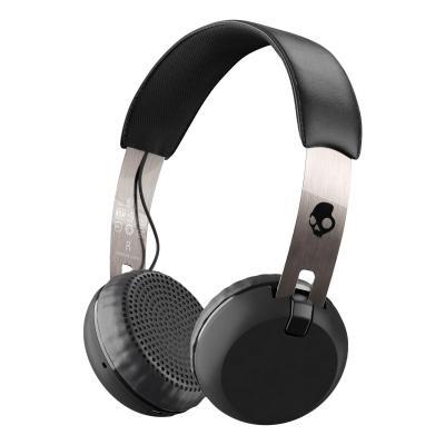 Skullcandy headset: Grind Wireless - Zwart, Chroom