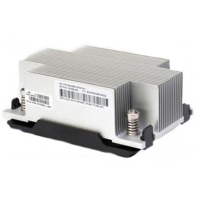 Hp Computerkast onderdeel: Efficiency Heatsink Assembly - Zwart, Metallic