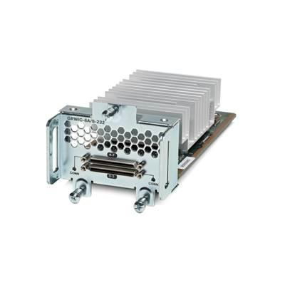 Cisco interfaceadapter: 8-Port Async/Sync Serial GRWIC, EIA-232