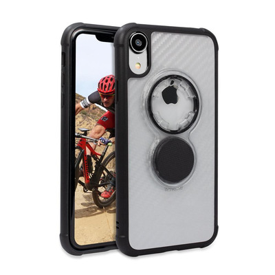 Rokform 305220P Mobile phone case - Zwart, Transparant
