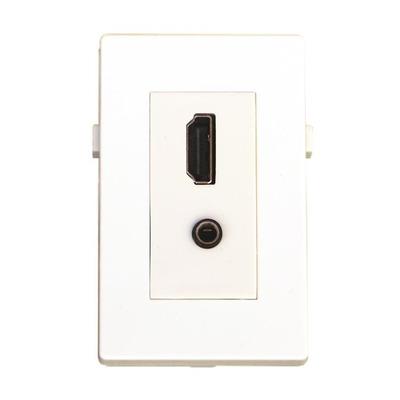 Garbot BN4900-HDMI+JACK wandcontactdozen
