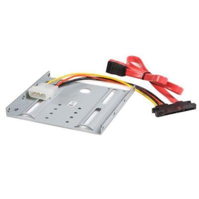 Startech.com montagekit: 2,5 inch SATA Harde Schijf naar 3,5 inch Bay Montageset