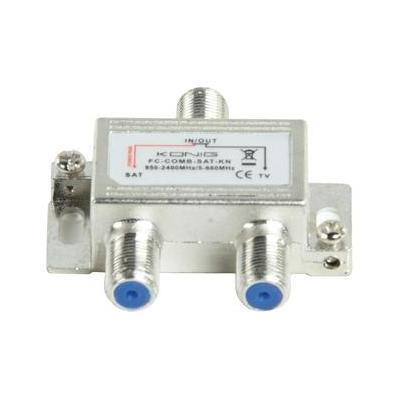 König kabel splitter of combiner: SAT/UHF/VHF combiner