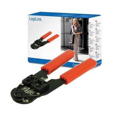 Logilink tang: Crimping tool for RJ45 - Oranje