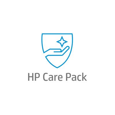 HP 3 j onsite svc volg werkd CTR, alleen desktop pc Garantie
