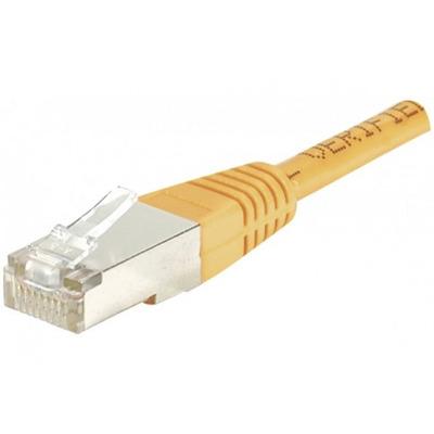 CUC Exertis Connect Cat6 RJ45 Patch cable F/UTP, 0.5 m - Orange Netwerkkabel - Oranje